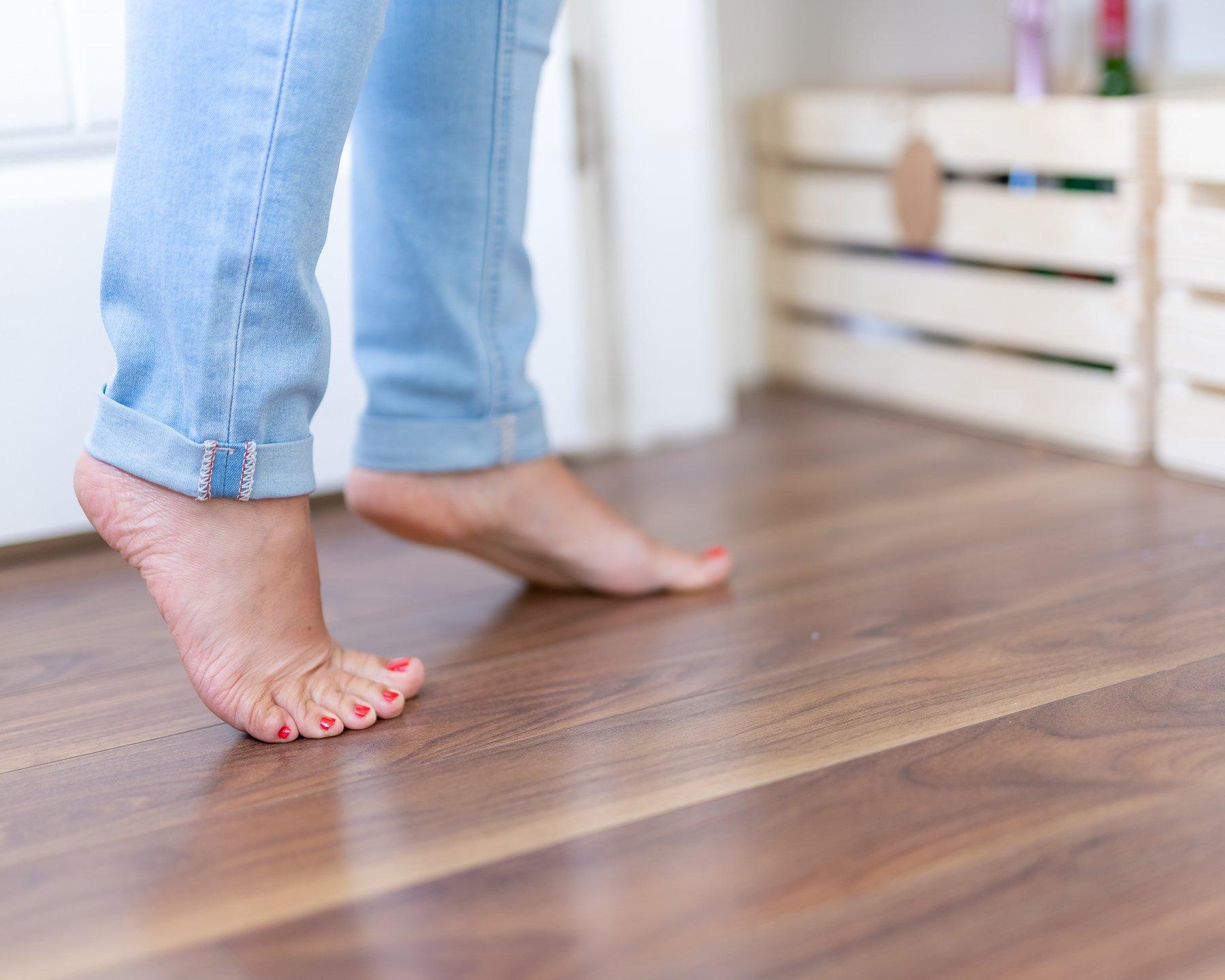 Brand portrait of feet