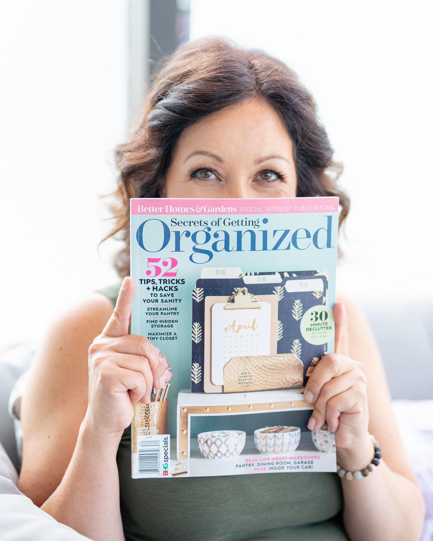 reading magazine business lifestyle photoshoot