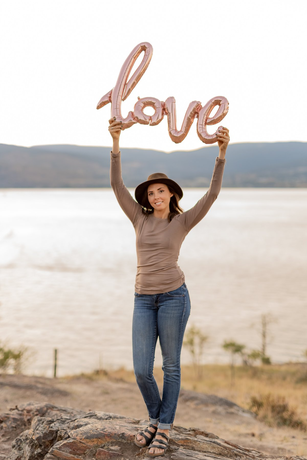 love brand photography in the Okanagan
